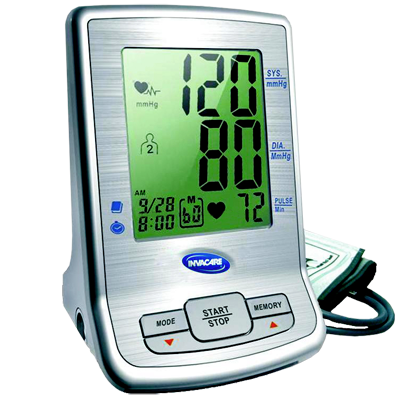 Invacare Deluxe Automatic Inflation Blood Pressure Monitor
